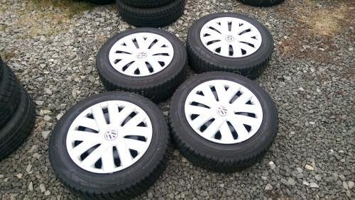 Zimní pneu s disky 185/60 R15 VW, Škoda, Seat, Audi