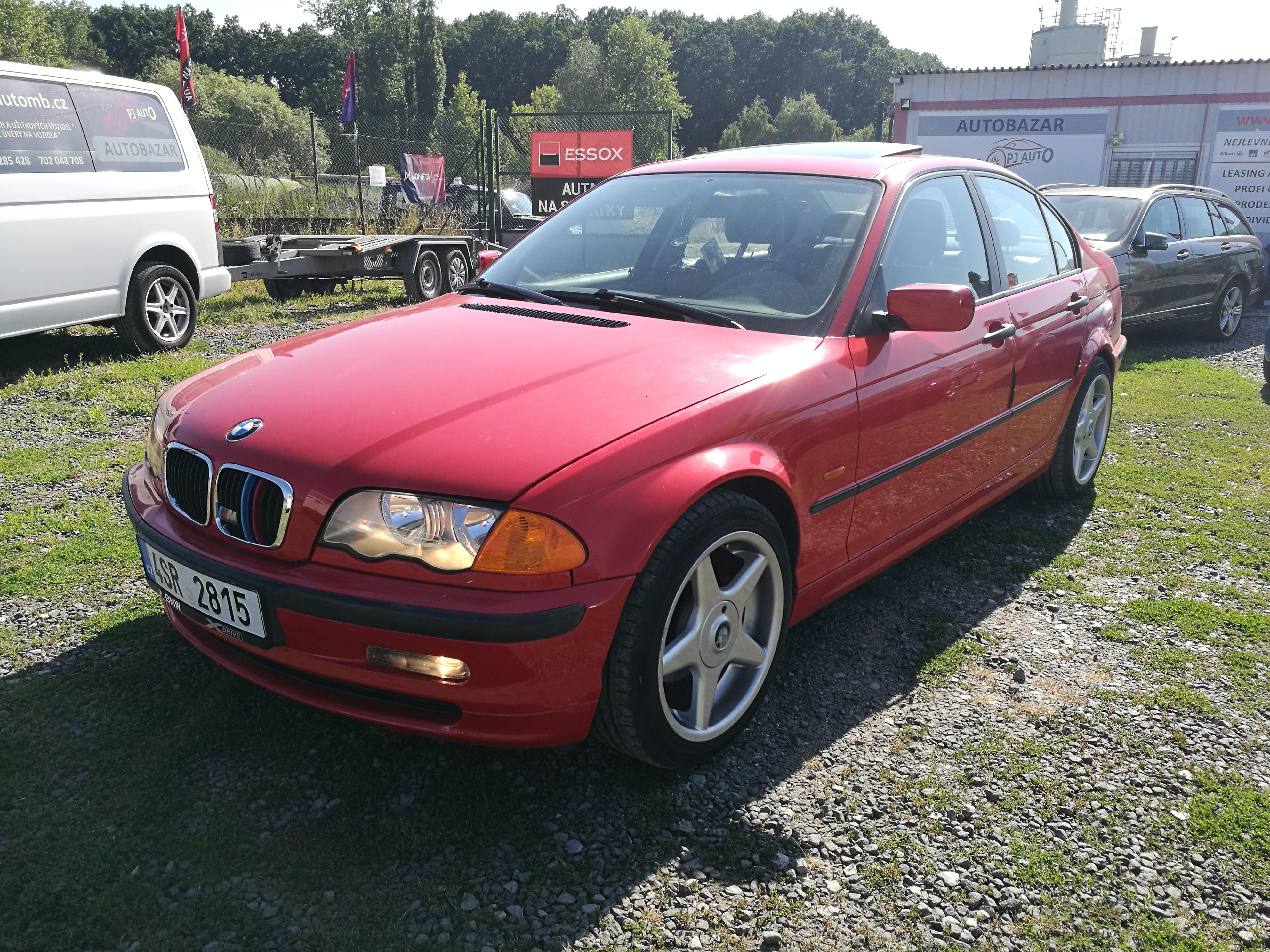 BMW 318i E46 1.9i 87kW Climatronic, 8x ALU