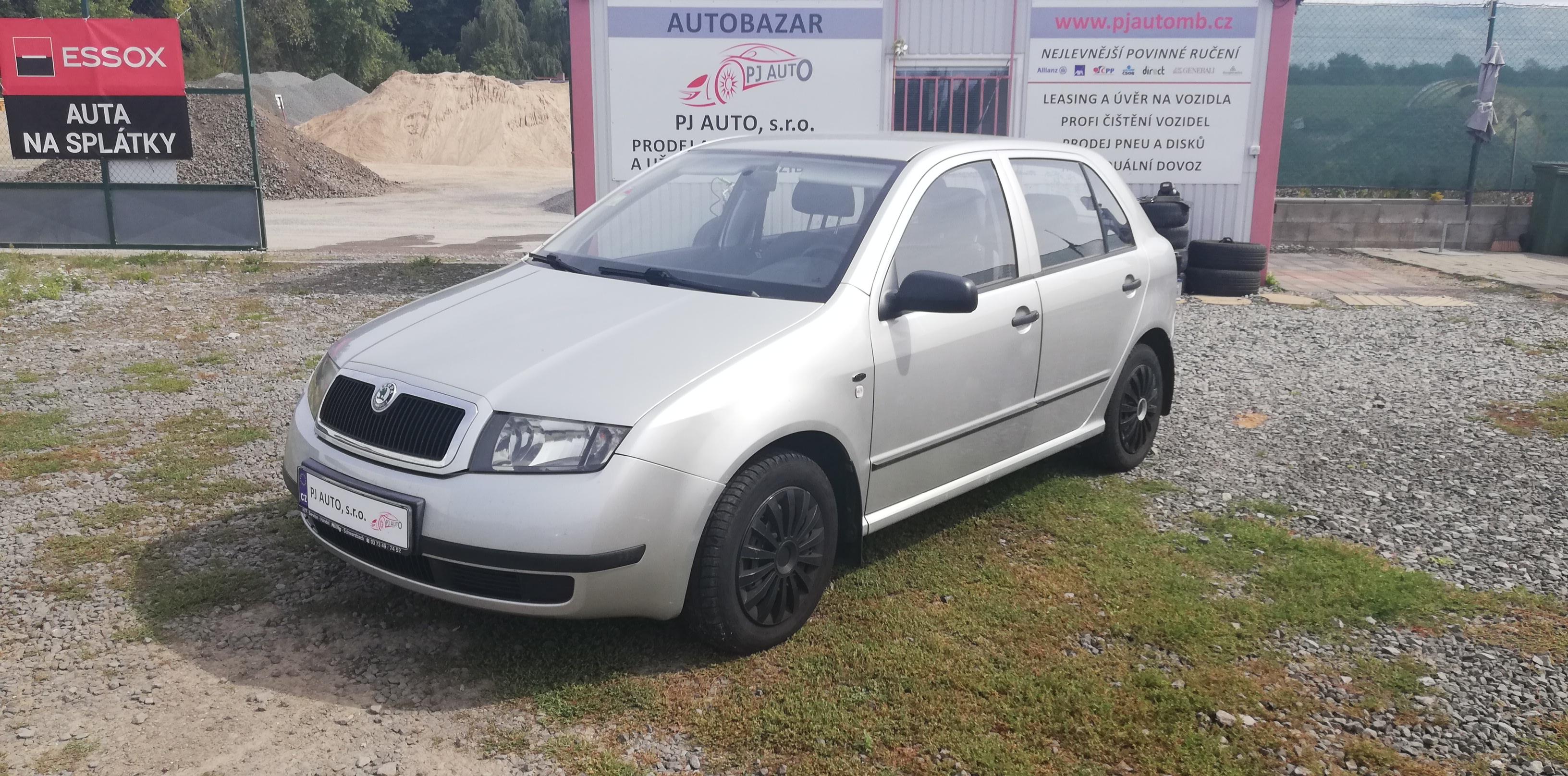 Škoda Fabia 1.4 16V 55kW Classic Servo,Tažné,Euro4