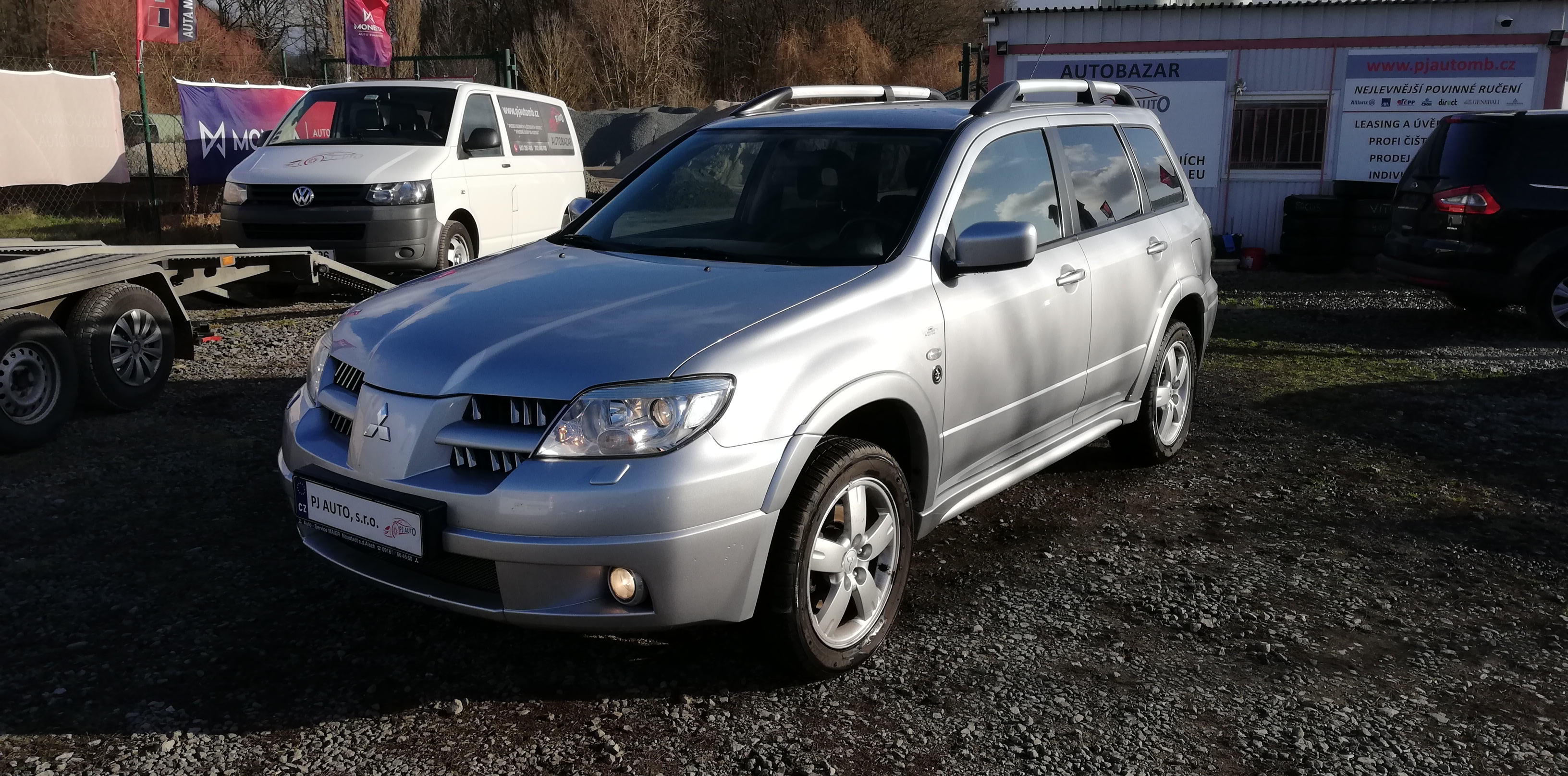 Mitsubishi Outlander 2.4i 118kW 4x4 DAKAR,ALU,Krasavec