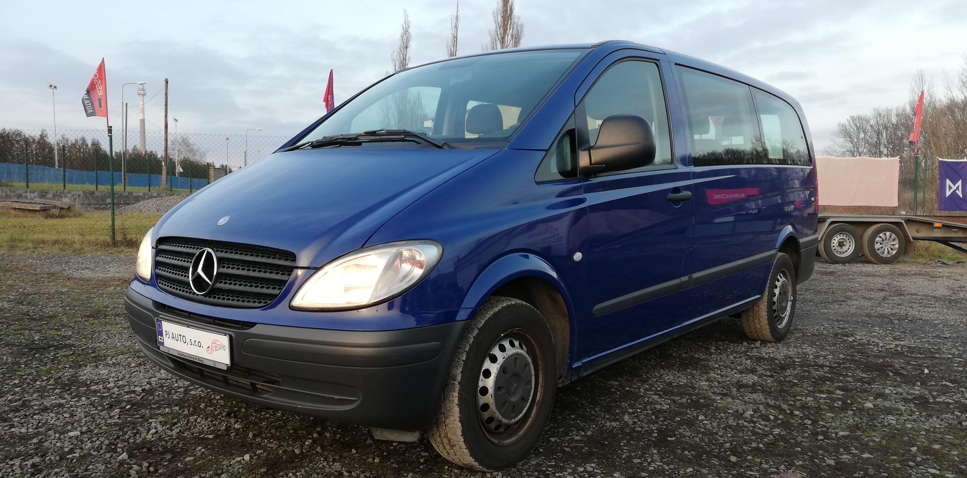 Mercedes-Benz Vito 111 CDi,9míst,Klima,nez. Topení,1majitel