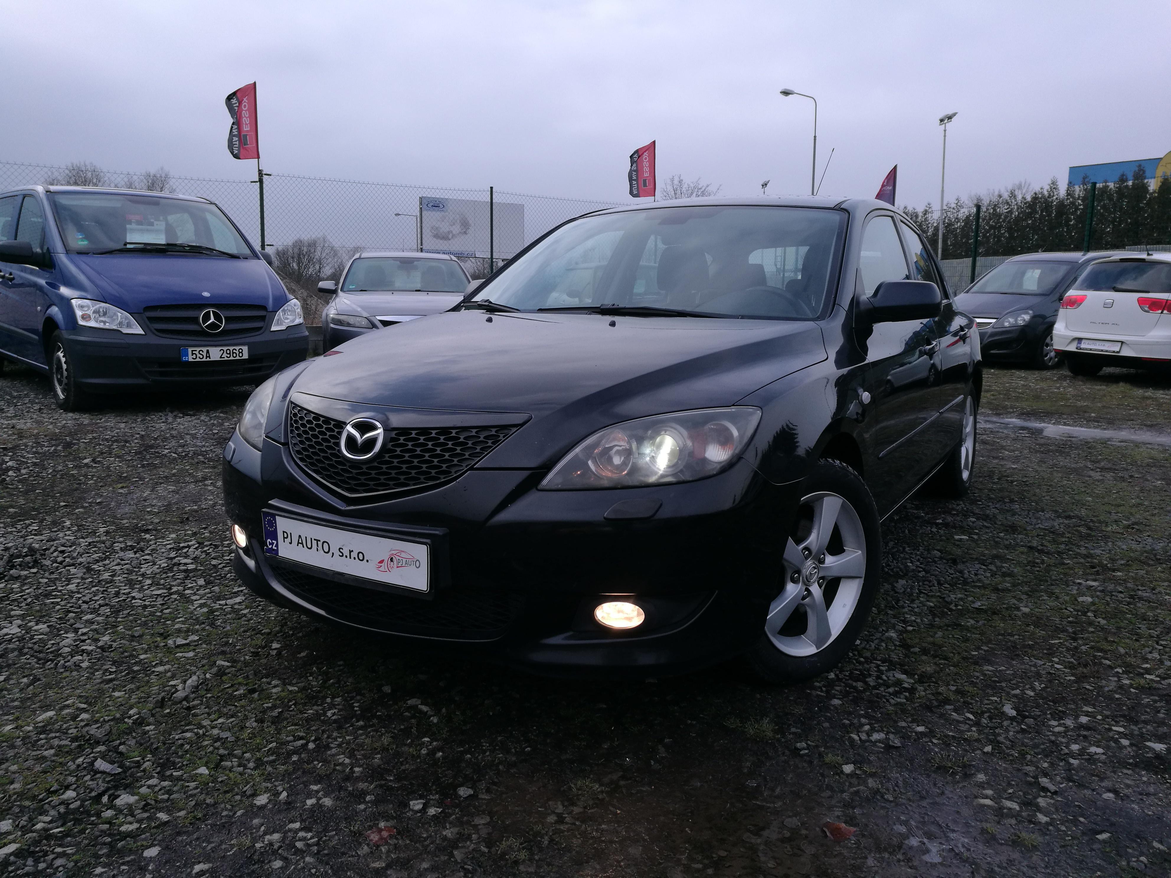 Mazda 3 1.6HDi 80kW Exclusice, XENONY, ALU, DIGI KLIMA po STK
