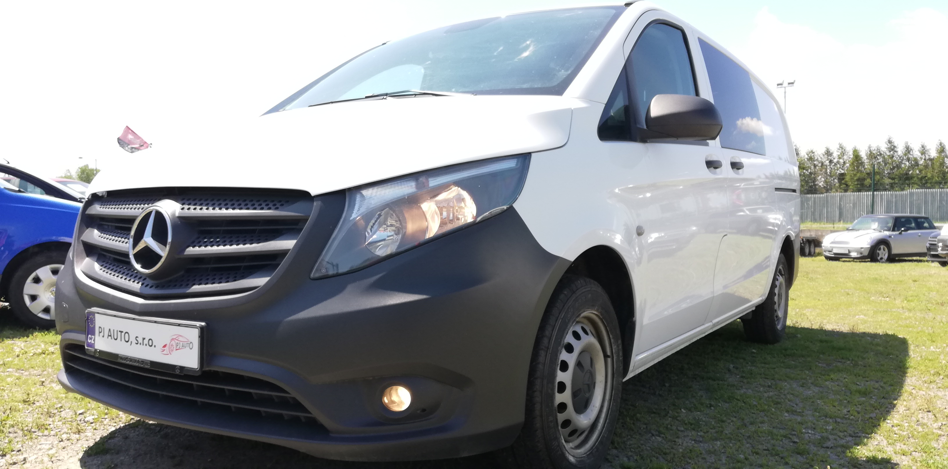 Mercedes-Benz Vito 114 CDi Mixto Long,Navi,Temp,Taž,1maj,DPH