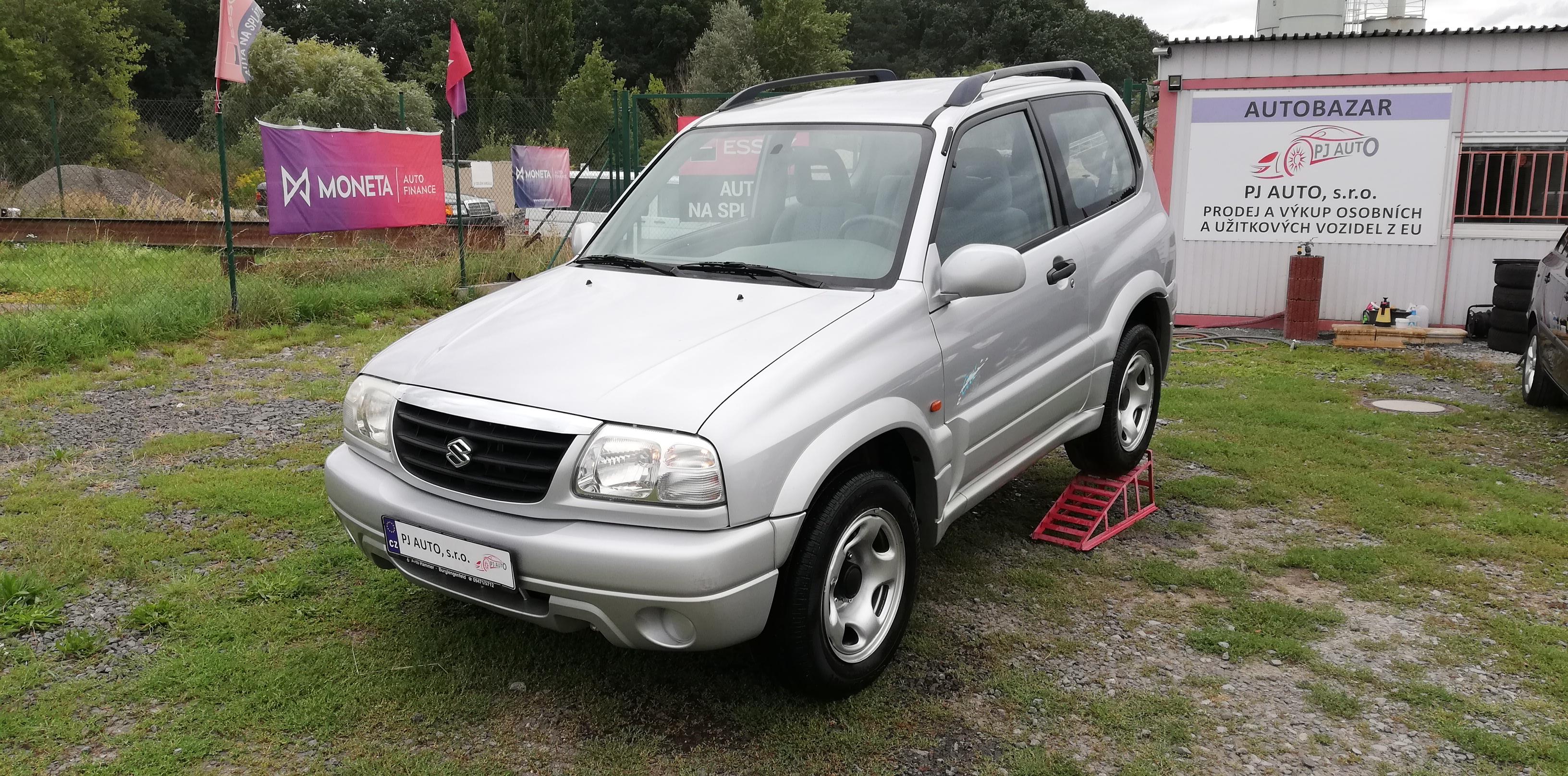 Suzuki Grand Vitara 1.6i 4x4,Klima,Redukce,Tažné,1maj, +pneu