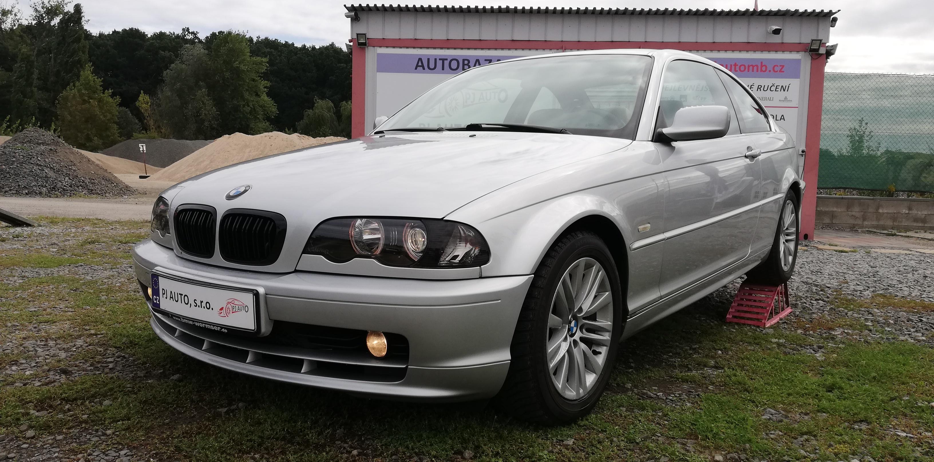 BMW 323i Ci 125kW E46,Temp,AAC,ALU,Android,Top